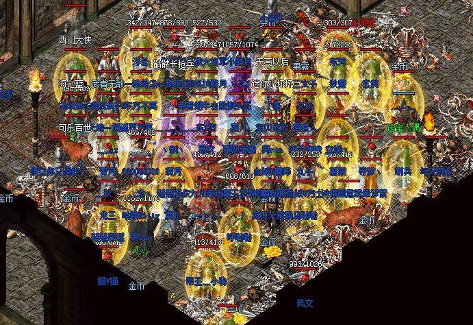 传奇私服里玩家们最喜欢的地图